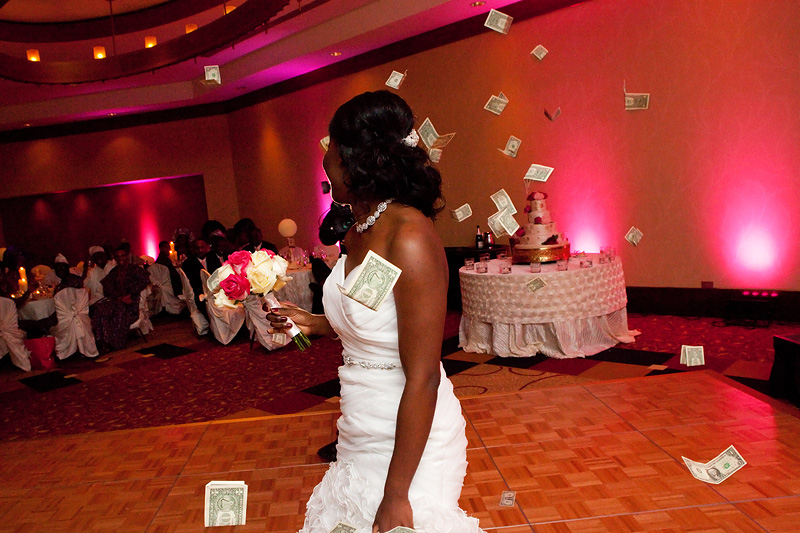 Wedding at Co Cathedral of the Sacred Heart and Reception at the Doubletree Hotel Houston Downtown by Collins Metu