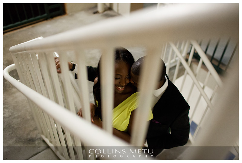 Downtown Orlando Engagement Photos by Collins Metu
