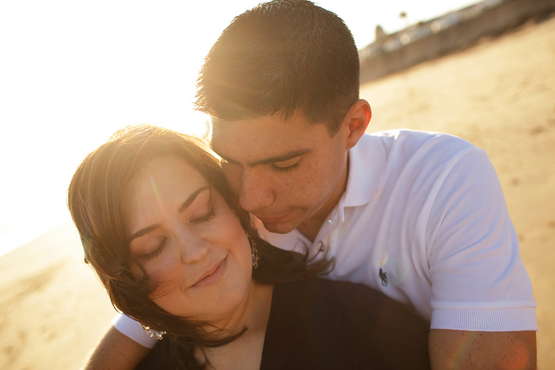Engagement Photos in Galveston TX by Collins Metu
