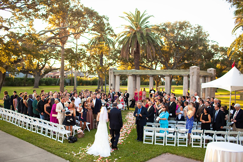 Wedding and Reception in Galveston TX by Collins Metu