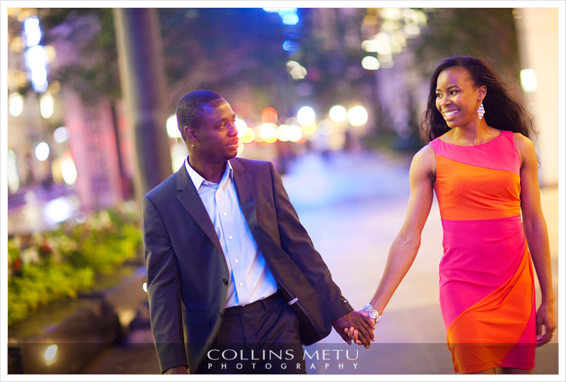 Houston Engagement Photos by Collins Metu