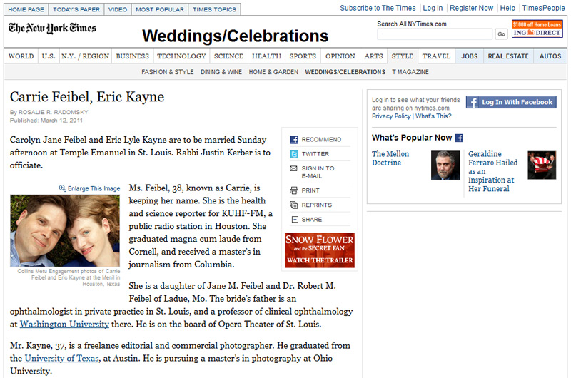 Photographer Collins Metu featured in the New York Times