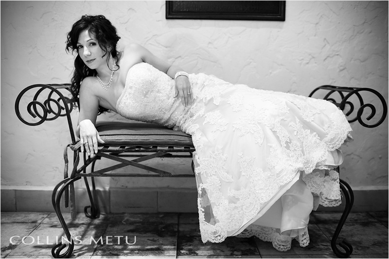 Creative bridal portraits at Las Velas