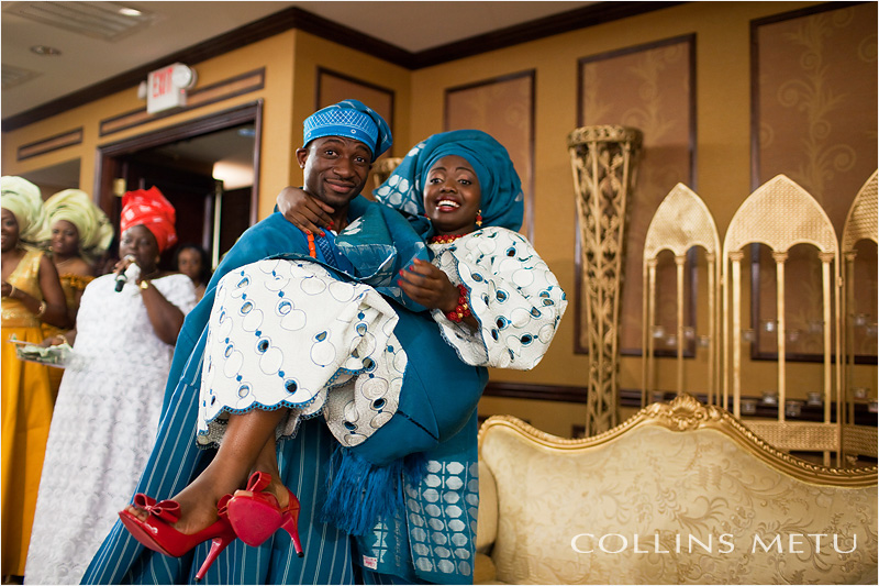 Yoruba engagement ceremony photos in Houston Texas by Collins Metu